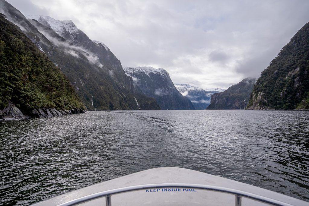 Crucero por Milford Sound: el paisaje es brutal