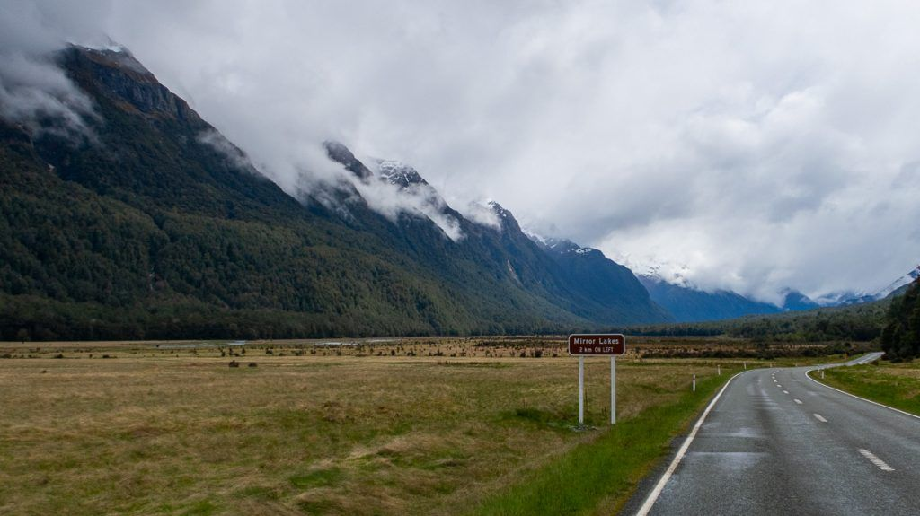 Carretera a Milford Sound: Eglinton Valley