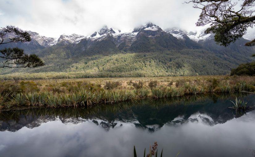 Carretera a Milford Sound: Mirror Lakes