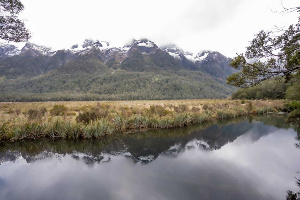 Carretera a Milford Sound: Mirror Lakes