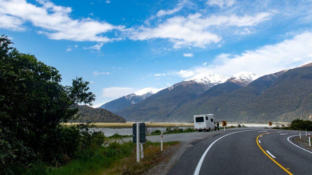 Etapa 7 por NZ desde Haast a Wanaka: Haast Pass