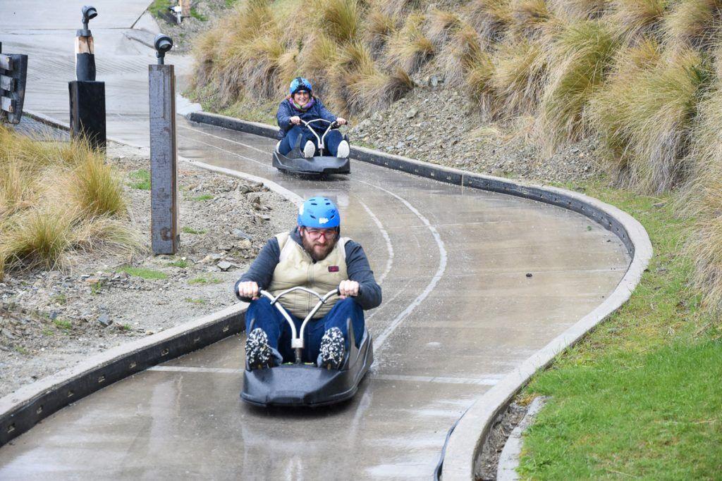 Qué hacer en Queenstown: Skyline Luge - Glenorchy
