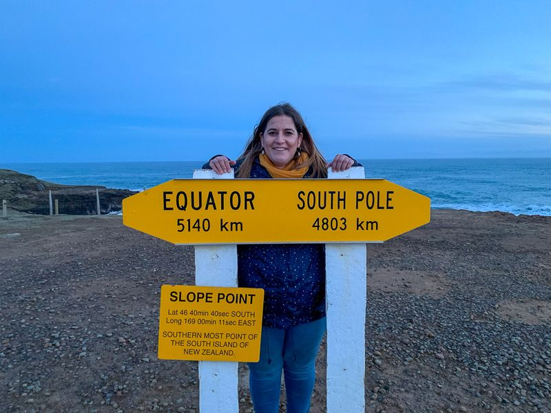 Etapa 10 por NZ desde Milford Sound a Slope Point: ¡llegamos a Slope Point!