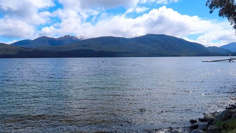 Carretera a Milford Sound: Lago Te Anau