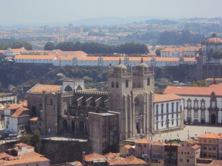 Qué ver en Oporto: vistas desde la torre dos Clérigos