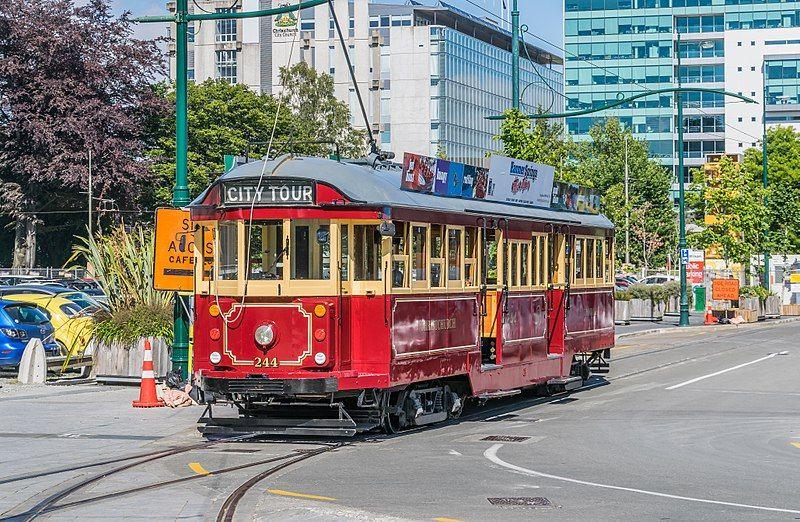 Qué hacer en Christchurch: dar un paseo en el tranvía turístico