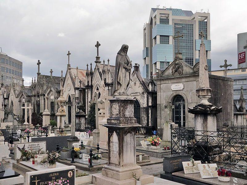 Qué ver en Oporto: cementerio de Agramonte