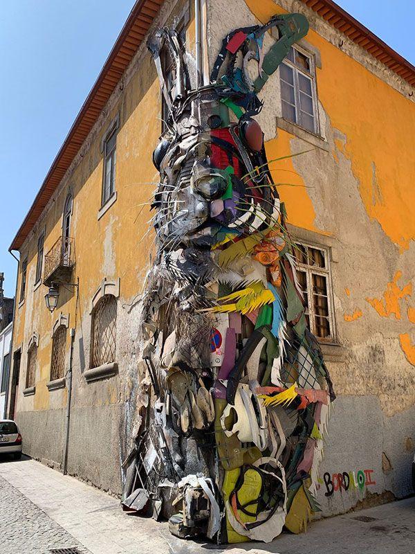 Qué ver en Oporto: Half Rabbit de Bordalo - qué hacer en Oporto