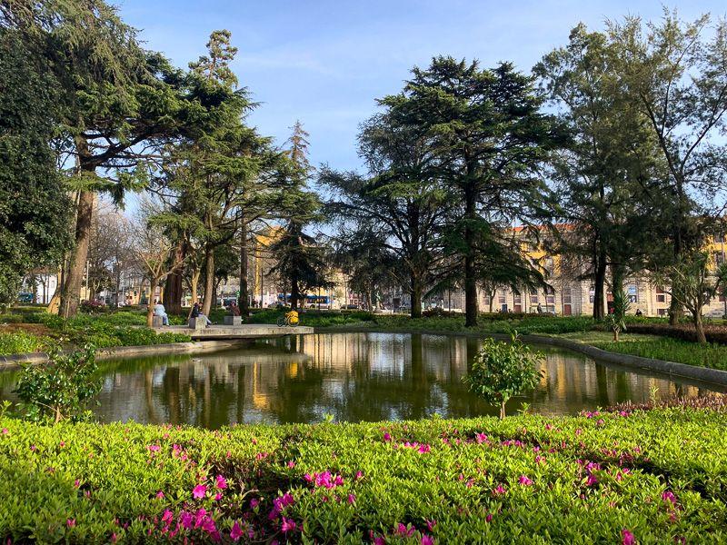 Qué ver en Oporto: Jardim do Cordoaria - dónde dormir en Oporto