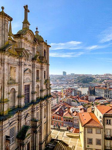 Breve historia de Oporto: iglesia de San Lorenzo