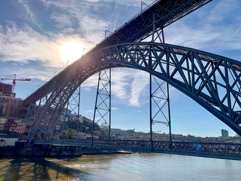 Breve historia de Oporto: puente Don Luis I