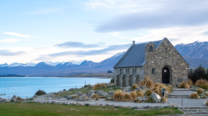 Etapa 13 por NZ por Akaroa y Christchurch: Good Sheperd Church