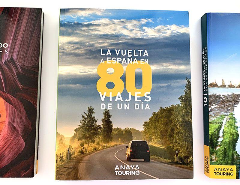 Los mejores libros para preparar viajes en coche: La vuelta a España en 80 viajes de un día