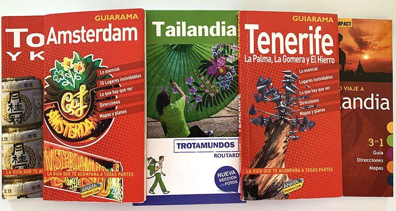 Los mejores libros para preparar viajes: guías de Anaya Touring y Trotamundos
