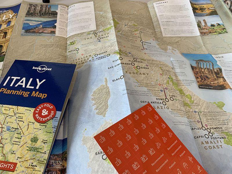 Mapas para organizar las mejores rutas en coche del mundo