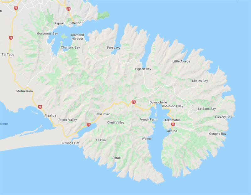 Etapa 13 por NZ por Akaroa y Christchurch: Península de Banks