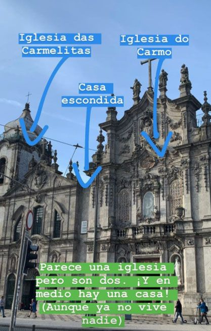 Qué ver en Oporto: igreja das Carmelitas