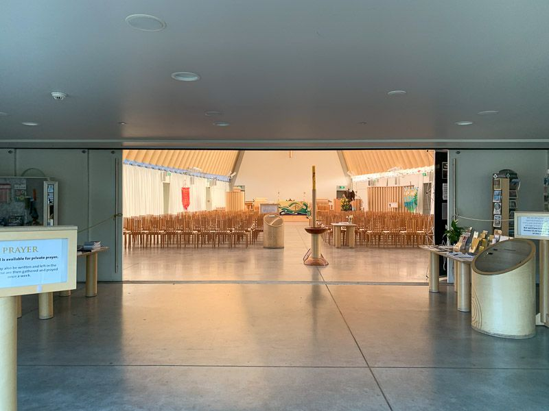 Qué ver en Christchurch: catedral de cartón