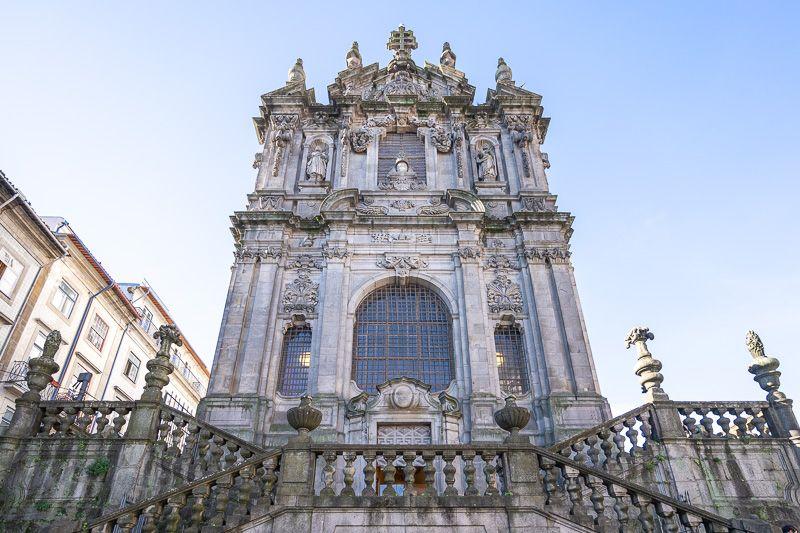 Qué ver en Oporto: iglesia dos Clérigos - cómo moverse por Oporto