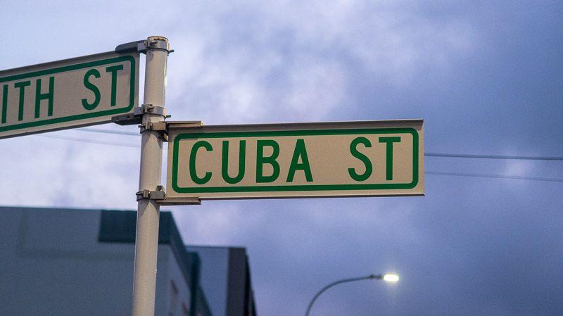 Etapa 15 por NZ de Kaikoura a Wellington: calle Cuba
