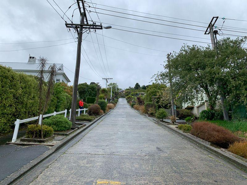 Etapa 11 por NZ desde Slope Point a Nugget Point y el Monte Cook: Dunedin
