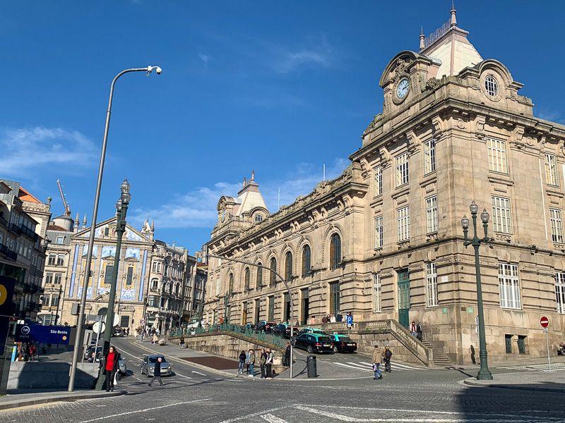 Qué ver en Oporto: estación de Sao Bento