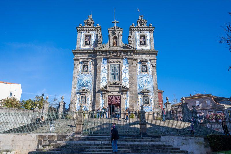 Qué ver en Oporto: iglesia de Santo Ildefonso