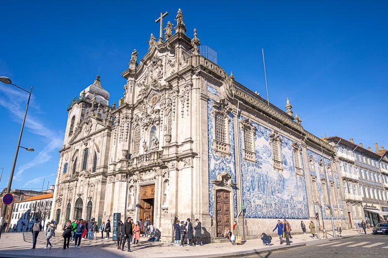 Qué ver en Oporto: igreja do Carmo