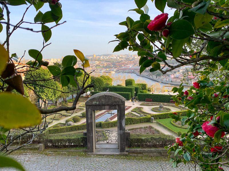 Qué ver en Oporto: jardines del Palacio de Cristal