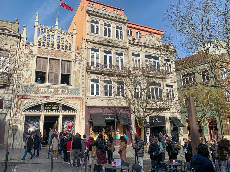Qué ver en Oporto: librería Lello