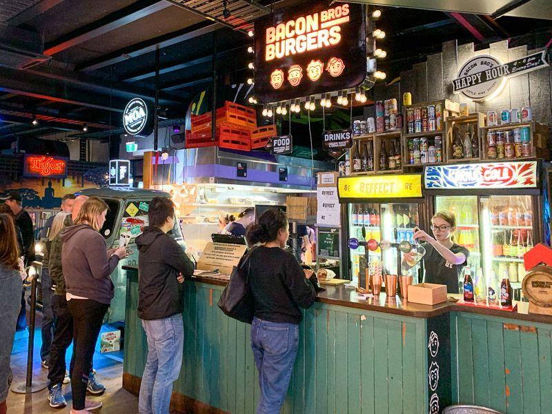 Etapa 13 por NZ por Akaroa y Christchurch: Little High Eatery