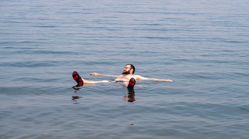 Guía de Jordania: bañarse en el Mar Muerto