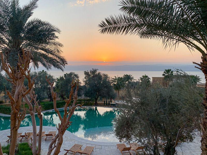 Guía de Jordania: hotel Kempinski