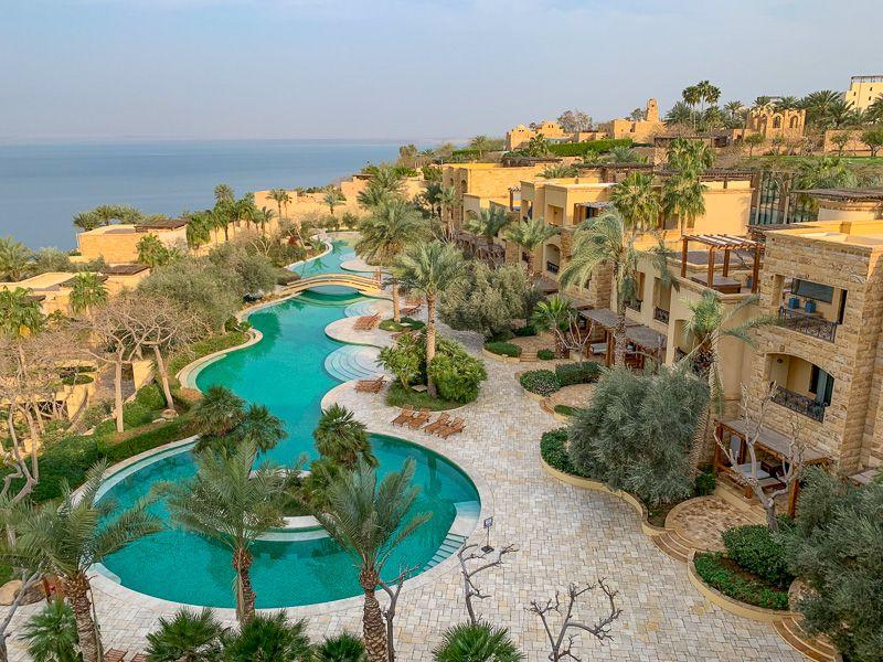 Qué ver en Jordania: hotel Kempinski
