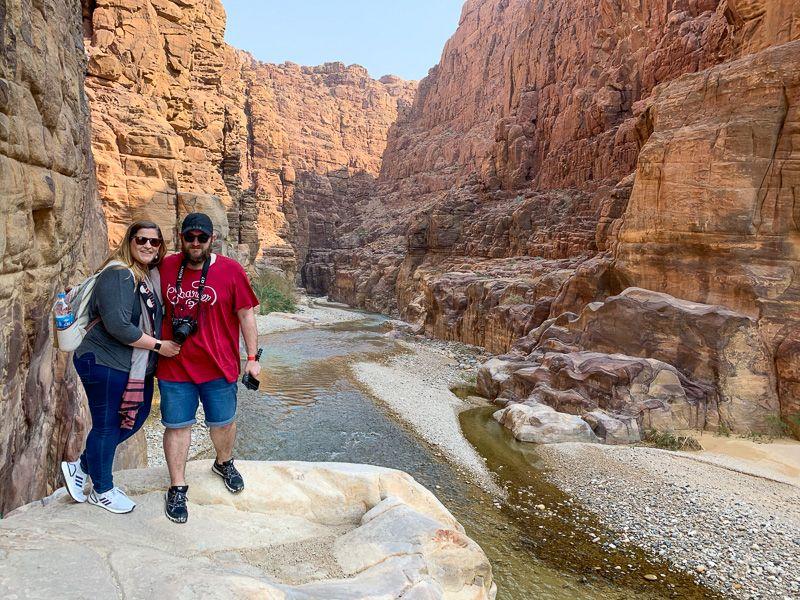 Guía de Jordania: Wadi Mujib