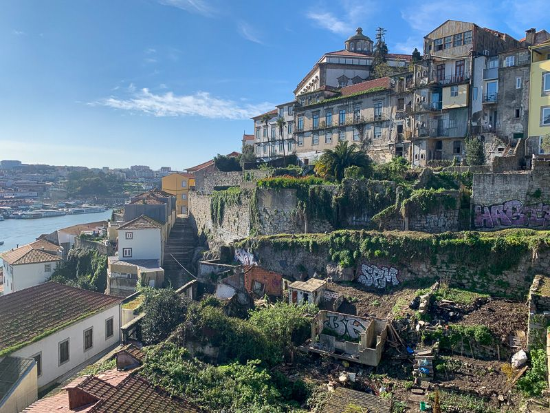 Qué ver en Oporto: vistas desde la parte superior del Ponte Dom Luis I