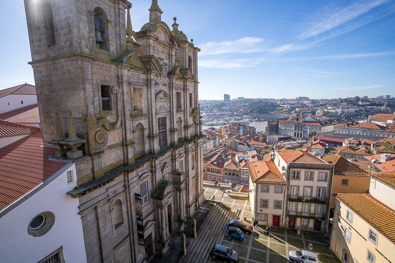 Qué ver en Oporto: miradouro da Rua das Aldas
