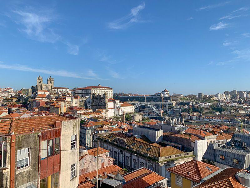 Qué ver en Oporto: miradouro da Vitoria