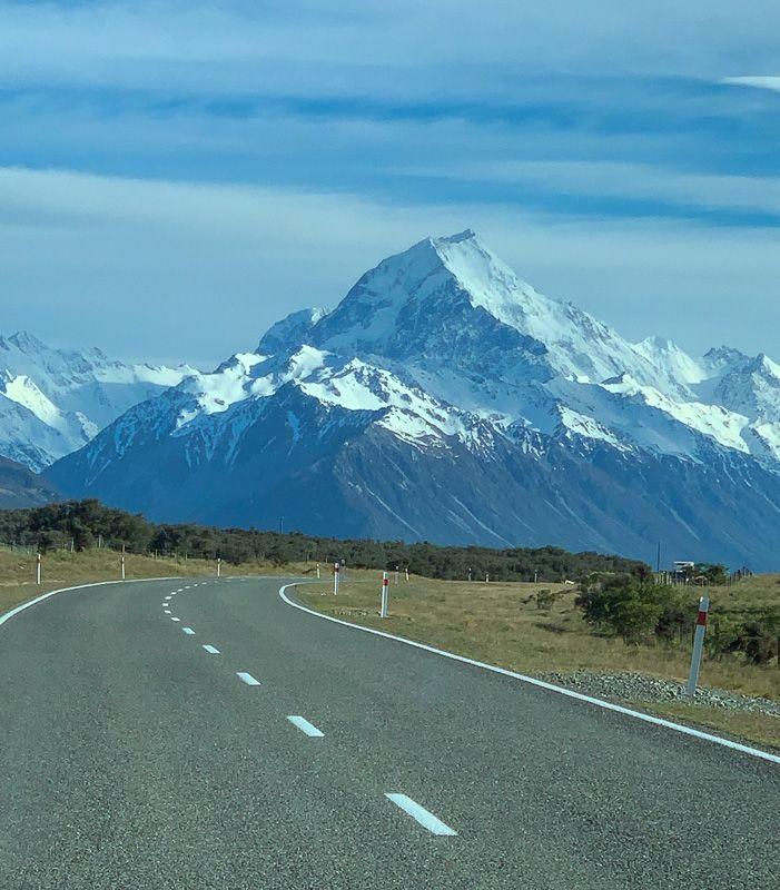 Etapa 12 por NZ por el Monte Cook y Glaciar Tasman: Monte Cook