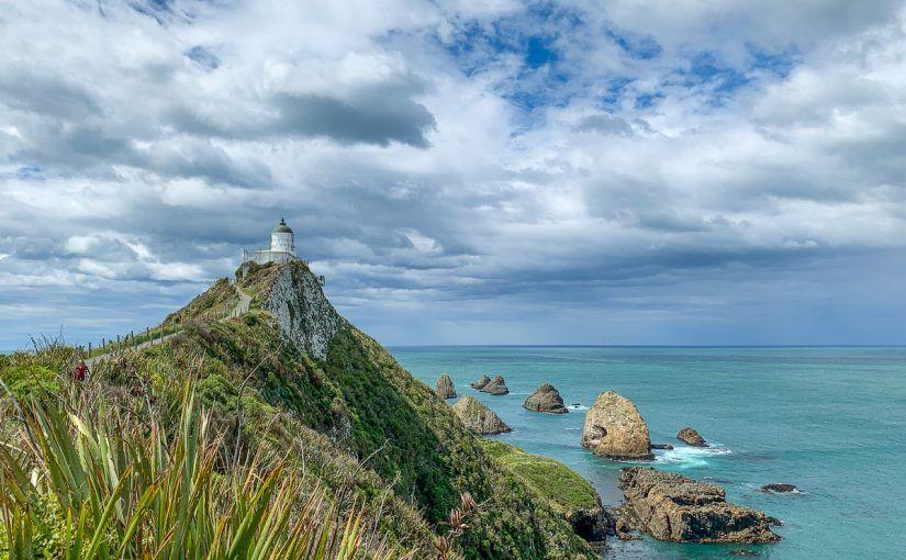 Etapa 11 por NZ desde Slope Point a Nugget Point y el Monte Cook: Nugget Point