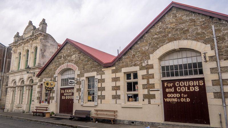 Etapa 11 por NZ desde Slope Point a Nugget Point y el Monte Cook: Oamaru