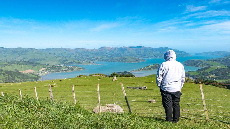 Etapa 13 por NZ por Akaroa y Christchurch: Summit Road