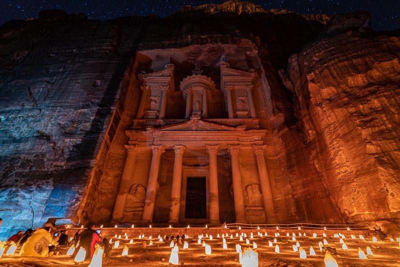 Guía de Jordania: Petra by Night