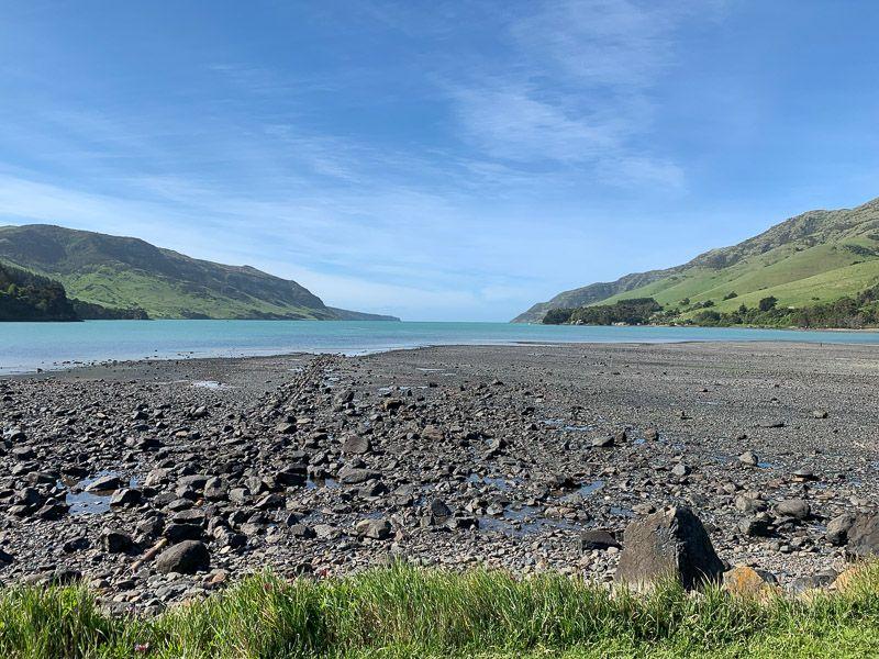 Etapa 13 por NZ por Akaroa y Christchurch: Pigeon Bay