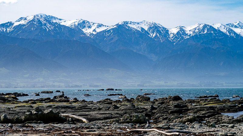 Etapa 14 por NZ de Christchurch a Kaikoura: vistas desde Kaikoura