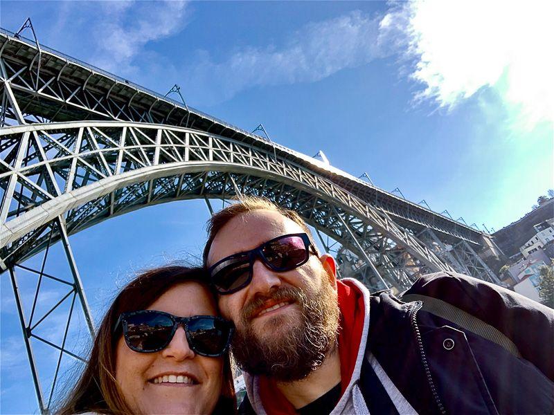 Dónde comer en Oporto: Ponte Dom Luis I