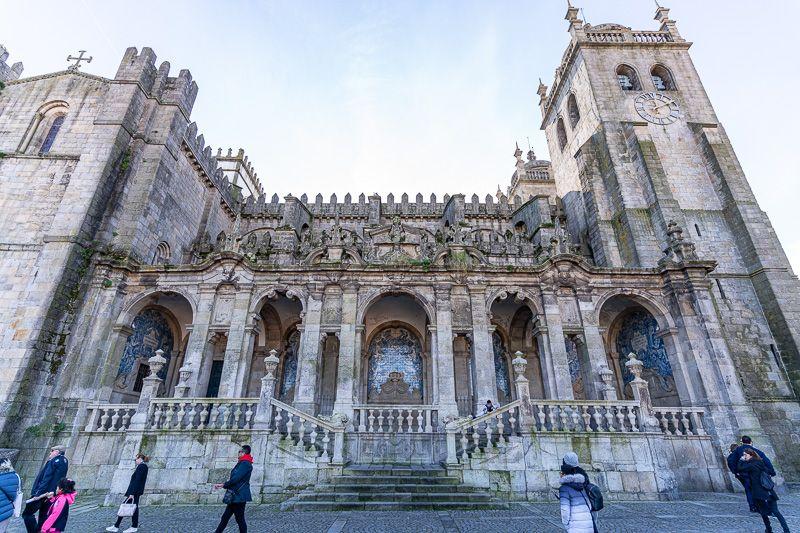 Qué ver en Oporto: Sé do Porto