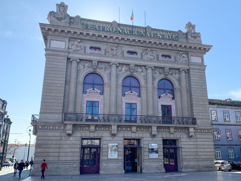Qué ver en Oporto: Teatro Nacional Sao Joao