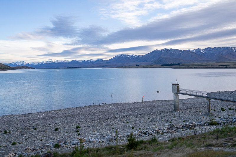 Etapa 13 por NZ por Akaroa y Christchurch: amanecer en el lago Tekapo