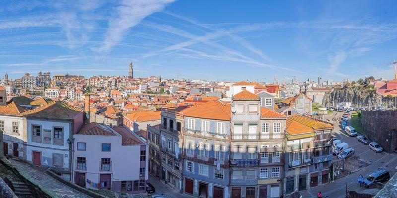 Qué ver en Oporto: vistas desde la Sé do Porto